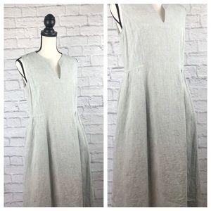 Lafayette 148 New York Linen Pocket Dress